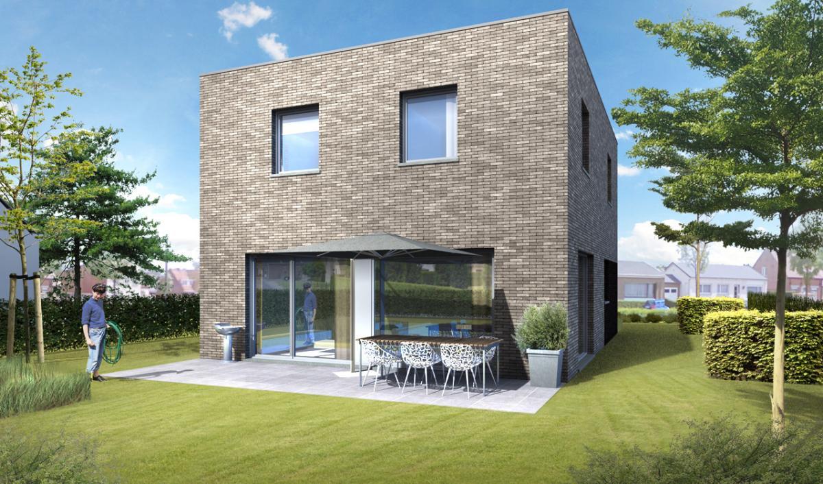 Immo gryson torhout koekelare woning moderne for Te koop moderne woning
